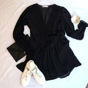Zara Polka Dot Tunic Dress L